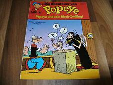 Abenteuer von POPEYE   # 11 -- Popeyes Blech-Zwilling  / Ehapa 1. Auflage 1980