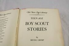 Teen Age Boy Scout Stories By Irving Crump 1948 Lantern Press Inc    i6p45