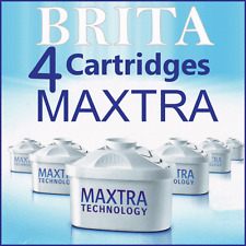 Maxtra X4 Brita Replacement Water Cartridges Britta Jug Filters New 4 Pack