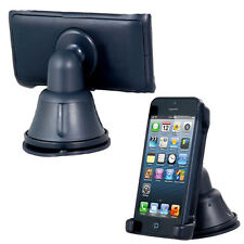 360° Rotation Dashboard Silicone Suction Cup Car Mount Holder For iPhone 5 5C 5S