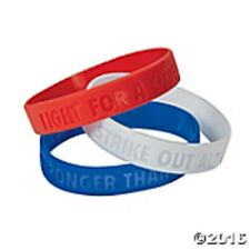 ALS Awareness Rubber Bracelets Set of 24 Amyotrophic Lateral Sclerosis Events