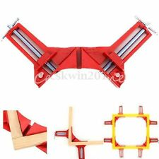 "4Pcs 3"" Right Angle 90 Degree Miter Corner Clamp Picture Frame Holder Woodwork"