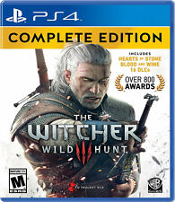 The Witcher 3: Wild Hunt Complete Edition PS4 New PlayStation 4, PlayStation 4