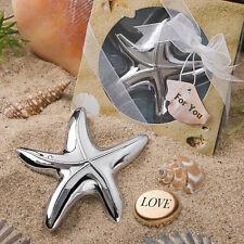 50 starfish design bottle opener wedding favor Bridal Shower Favors Beach Theme