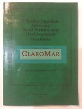 ☀️NEW Effective Appellate Advocacy: Brief Writing and Oral Argument Casebook Law