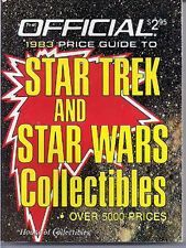 Vintage Star Trek & Star Wars Collectibles Price Guide- First One from 1983!