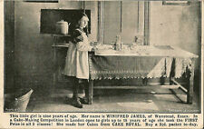 WANSTEAD(Essex ) : Winifred James of Wanstead-cake maker-CAKLE ROYAL advert card
