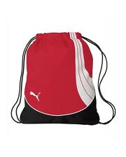 "PUMA Red Teamsport Formation Gym Sack Drawstring Backpack Bag 1006 18"" x 14.5"""