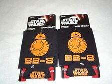 2 NEW STAR WARS CAN COOLERS KOOZIES BB-8