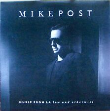 "MIKE POST ""Music From LA law and otherwise""  Polydor ‎– 422-833-985-1 NM 1988"