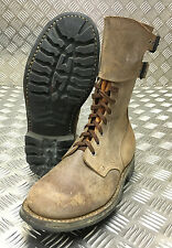 Genuine French Foreign Legion Brown Leather / Suede Army Boots Size 42 NEW FB013