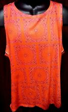 ~!L@@K!~ Men's BROKEN ENGLISH Tank Top Red AWESOME Style Shirt.Size Large,L~