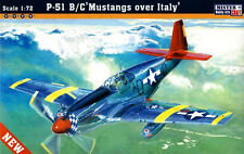 P 51 B/C MUSTANG 'RED TAILS' (TUSKEGEE AIRMEN) 1/72 MISTERCRAFT