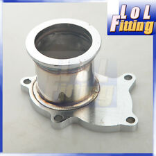 """For T3 T3/T4 5 Bolt Turbo Downpipe Flange to 3"""" V Band Conversion Adaptor"""