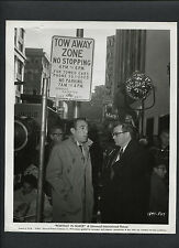 ANTHONY QUINN + ROSS HUNTER ON LOCATION BTWN TAKES IN SAN FRANCISCO - 1960