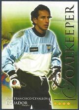 FUTERA 2010 WORLD FOOTBALL-SERIES 2- #411-ECUADOR-JOSE FRANCISCO CEVALLOS