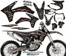 2007 2008 2009 2010  KTM SX SXF 125 250 450 525 GRAPHICS KIT DECO DECALS MOTO