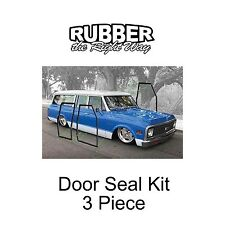 1967 1968 1969 1970 1971 1972 Chevy GMC Suburban Door Seal Kit - 3 pc.