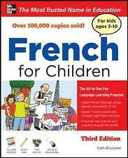 McGraw Hill French For Children, Guidebook & Activity Book & Three Audio CDs