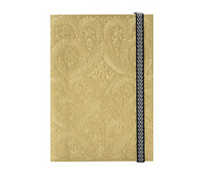 Christian Lacroix PASEO GOLD B5 Layflat Notebook 7 x 10 inch 152 Ruled #01059