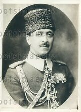 1918 Ali Bey Mohamed Adjutant to Sultan of Turkey Press Photo