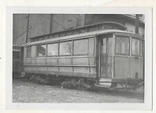 NEW YORK & QUEENS Private Trolley Car 1937 NY New York City Photograph
