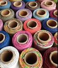 Hemptique Natural Hemp Cord Ribbon Bakers Twine NEW Choice of colour and length