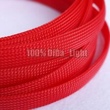 12mm High Densely Tight Braided PET Expandable Sleeving Cable Wire Sheath