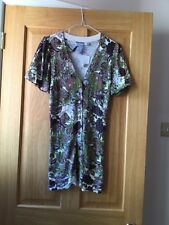 TWELVE BY TWELVE LADIES MULTI COLOURED SHORT SLEEVED CARDIGAN/SIZE XS/NWT
