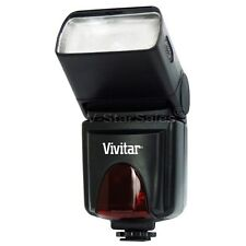 Vivitar SF6000 Slave Flash with Bounce and LCD for Canon Nikon Sony Fuji Pentax