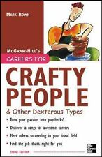 CAREERS FOR CRAFTY PEOPLE & OTHER DEXTEROUS - NEW PRE-LOADED AUDIO PLAYER BOOK