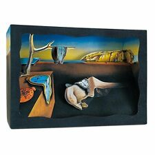 Salvador Dali melting pocket watch Paper Diorama Tatebanko Japanese Art Memory