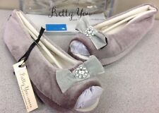 Pretty You London DELTA PLUM Ballet  Slippers WOMENS Size M (US 6.5-7.5) NEW