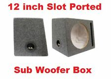 12 INCH SUBWOOFER BOX   SLOT PORTED **BRAND NEW*