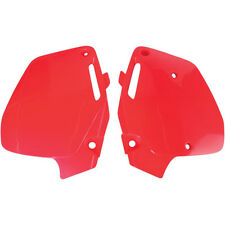 Ufo Seitenteile Seitendeckel rot side cover  Honda CR 500 91-01