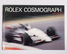 "Original ""Rolex Cosmograph Daytona"" Booklet Circa 1988 Ref. 596.16! ZENITH!"