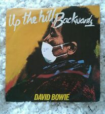 "DAVID BOWIE - UP THE HILL BACKWARDS / CRYSTAL JAPAN 7""RCA ORG A1 B2"