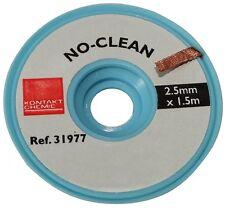 Tresse ruban bande à dessouder dessoudage cuivre 2.5mm/1.5m Flux No Clean