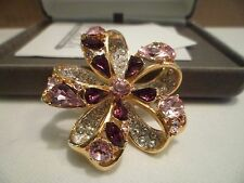 Nolan Miller Double Feature Bow Pin - Pink
