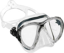Cressi Big Eyes Evolution Scuba Diving Snorkeling Freediving Mask, Made in Italy