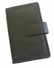 Seagate Leather Hard Disk Carry Case for 2.5 inch Portable USB HDD Cover - Black