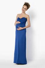 Ladies Maternity Evening Maxi Dress Bandeau Party Ball Gown Plus Sizes 8-18 FM25