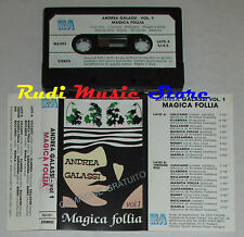 MC ANDREA GALASSI Magica follia vol 1 PROMO italy M&A MA/001 cd lp dvd vhs