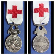 MEDAL FRANCE RED CROSS MEDAL FRENCH RED CROSS MEDAL 1864-1866 REPLACEMENT RIBBON