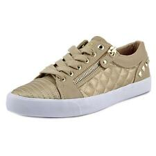 G By Guess Oolivia Women US 8.5 Gold Fashion Sneakers NWOB  1266