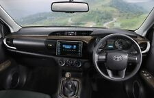 GENUINE TOYOTA ACCESSORY HILUX 2015-2016 REVO DECORATIVE WOOD DASH BOARD PANELS