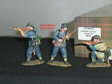 KING AND COUNTRY LW22 GERMAN LUFTWAFFE FIELD DIVISION ATTACK TOY SOLDIER SET