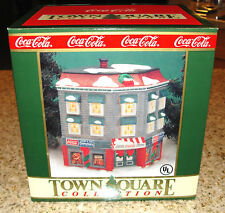 1993 Coca Cola Town Square Collection TAYLOR & SONS EMPORIUM Village Lighted