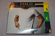 Polo Ralph Lauren Set of 3 Classic Fit Cotton Crew Assorted T-Shirts Size: Small