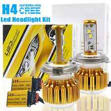 H4 LED Headlight Hi/Low Car Upgrade Conversion Bulbs White 180W 18000LM 6500K